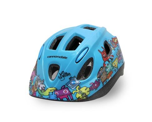 Cannondale Burgerman Colab Kids Helmet Teal S/M