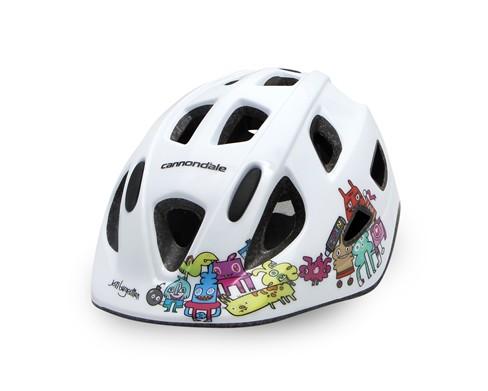 Cannondale Burgerman Colab Kids Helmet White S/M