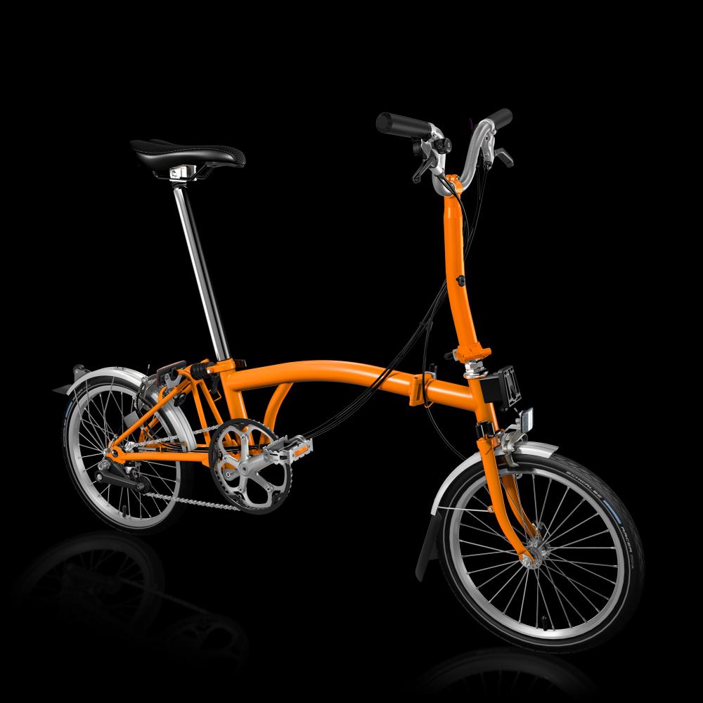 Brompton M6L, Orange