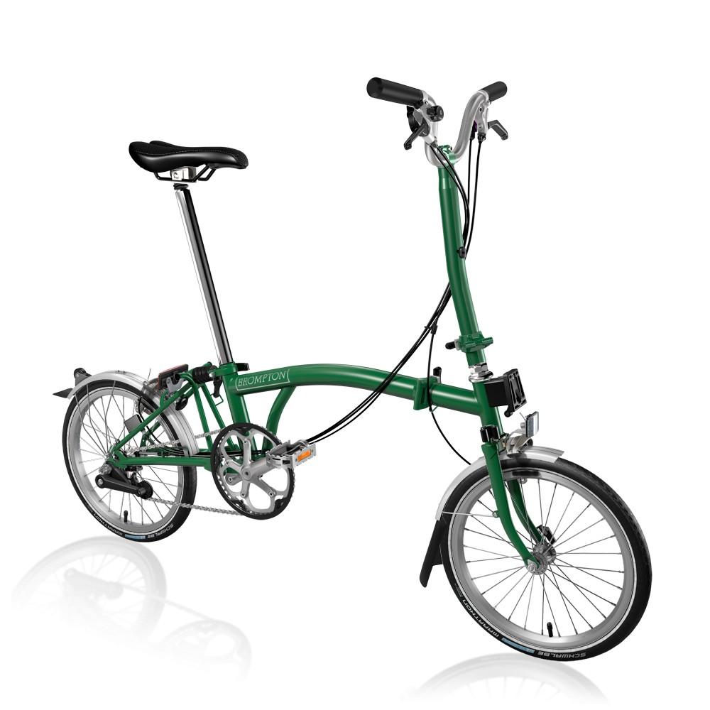 Brompton H6L Wide, Racing Green/Racing Green