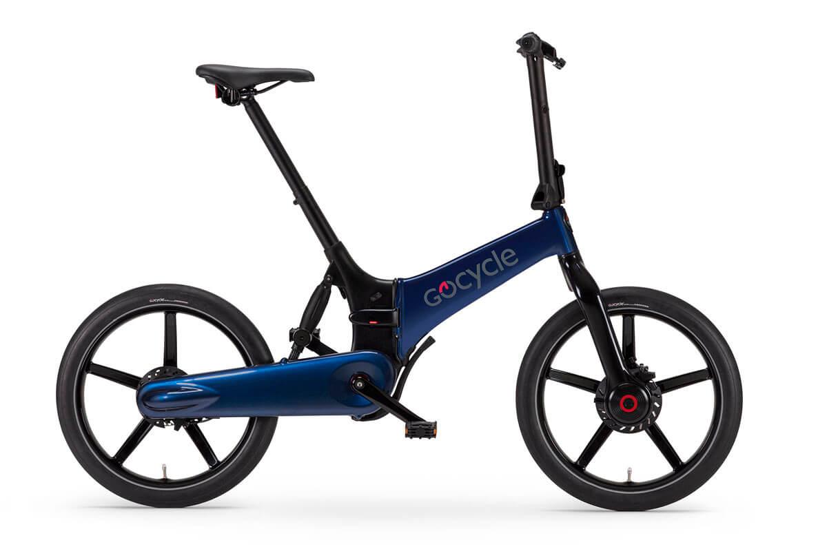 Gocycle G4, Blue