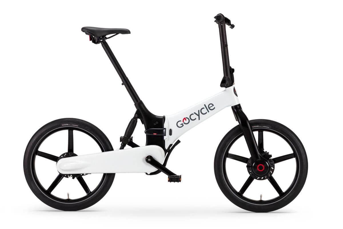 Gocycle G4, White-Black