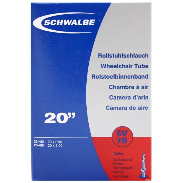 Schwalbe Bib 20x1    sw sv 7b 25-451 fv
