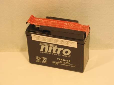 Nitro Accu 12v ytr4a-bs sealed sfx/x8r-s