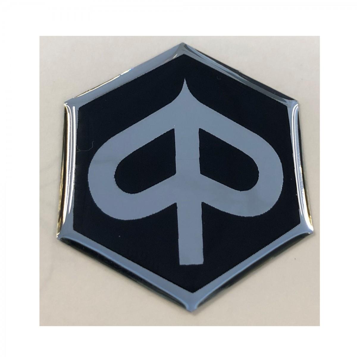 Piaggio logo / embleem zwart