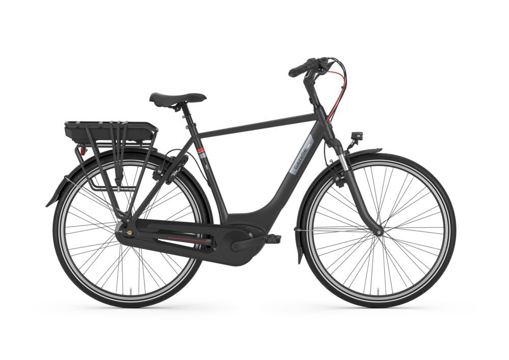 Gazelle Paris C7+ HMB, black mat