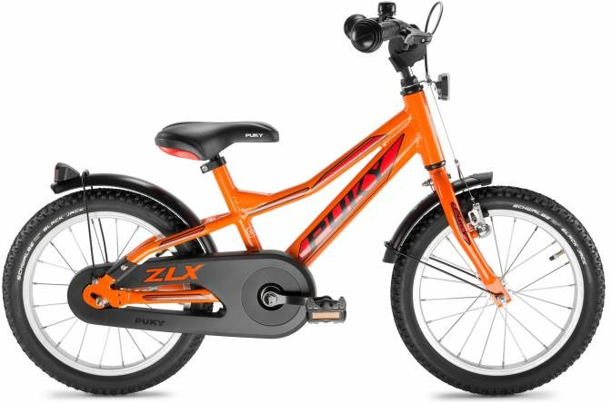 "Puky Kinderfiets 16"" Aluminium frame, Racing Oranje"