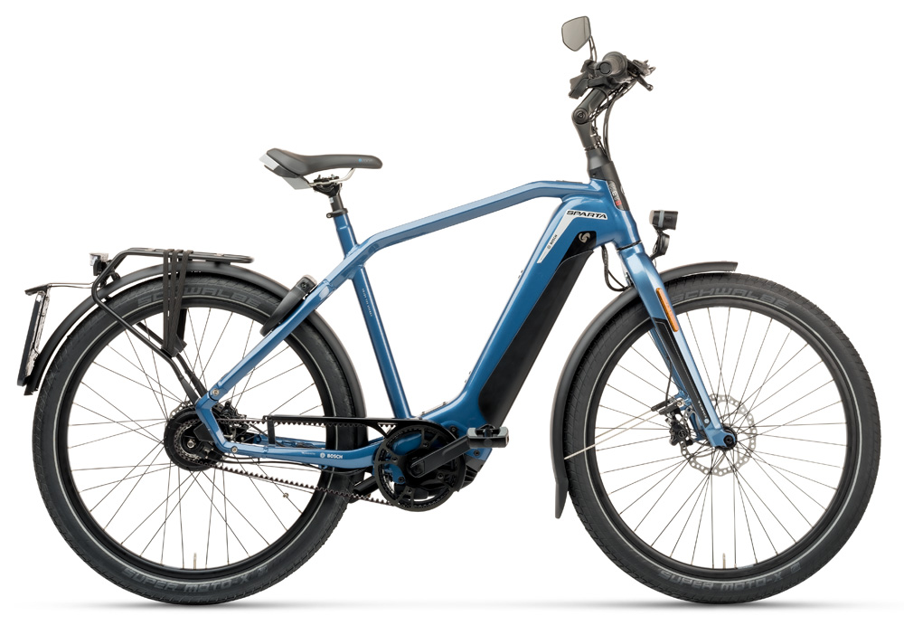 Sparta d-Burst METB Smart Speed incl. 625Wh, Grayisch Blue