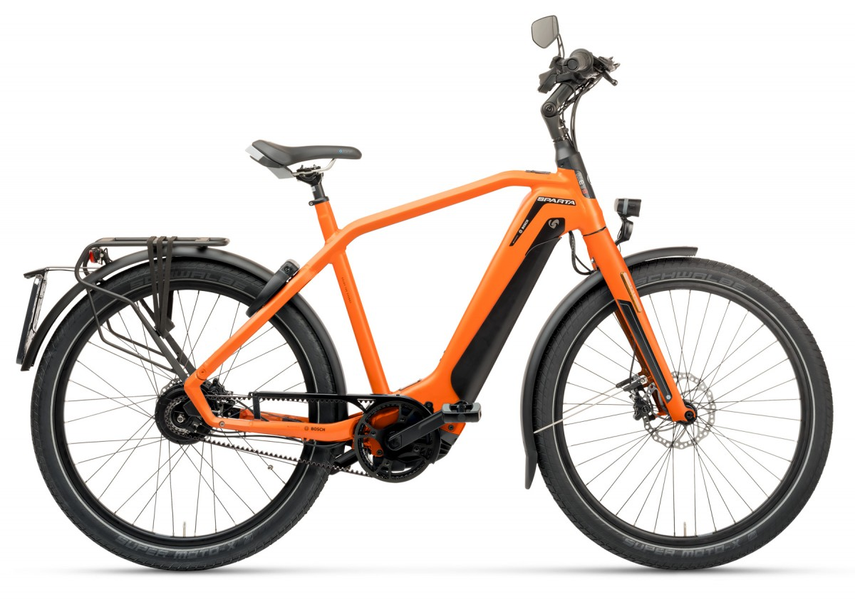 Sparta d-Burst METB Smart Speed incl. 625Wh, Orange matte
