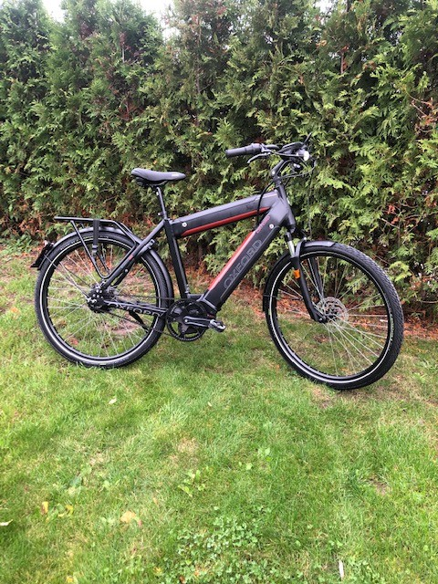 Oxford S-pedelec 1125wh 45km/u , Mat Zwart