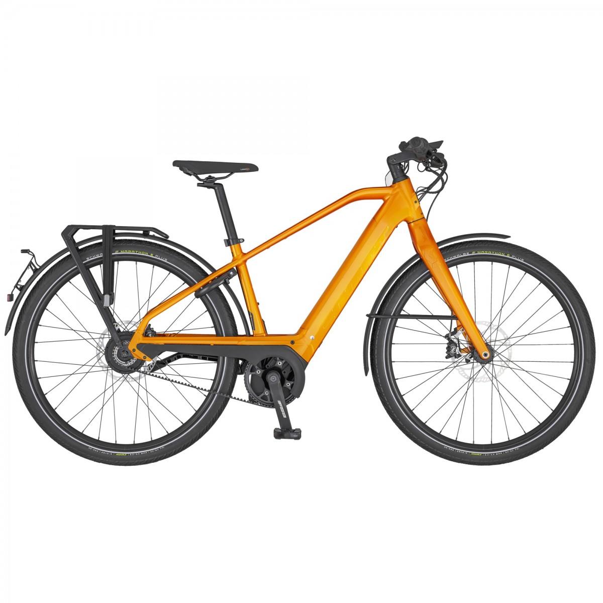 Scott SCO Bike Silence eRIDE Evo Speed L 625wh, Orange