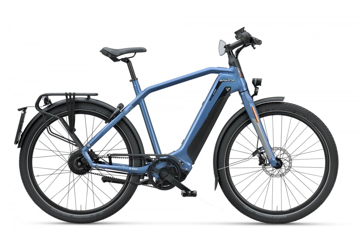 Sparta d-Burst METb Smart Speed incl. 625Wh, Grayish Blue gloss