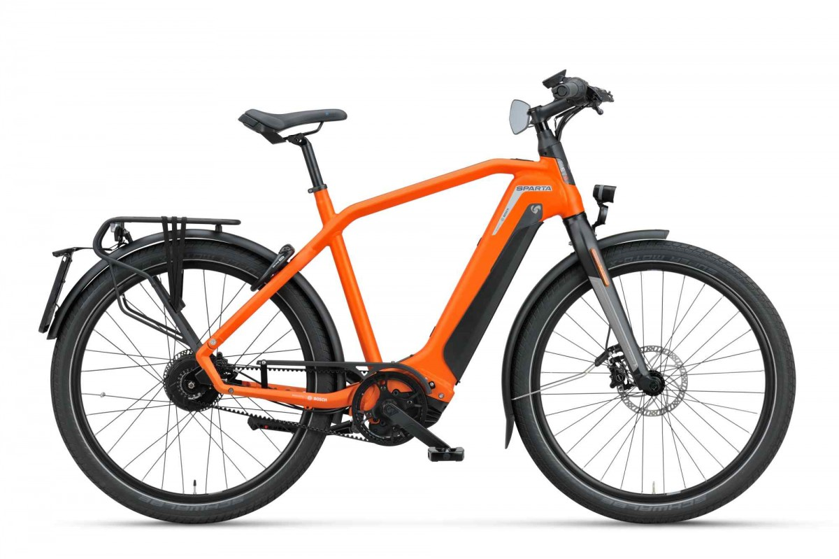 Sparta d-Burst METb Smart Speed incl. 625Wh, Sunset Orange matte