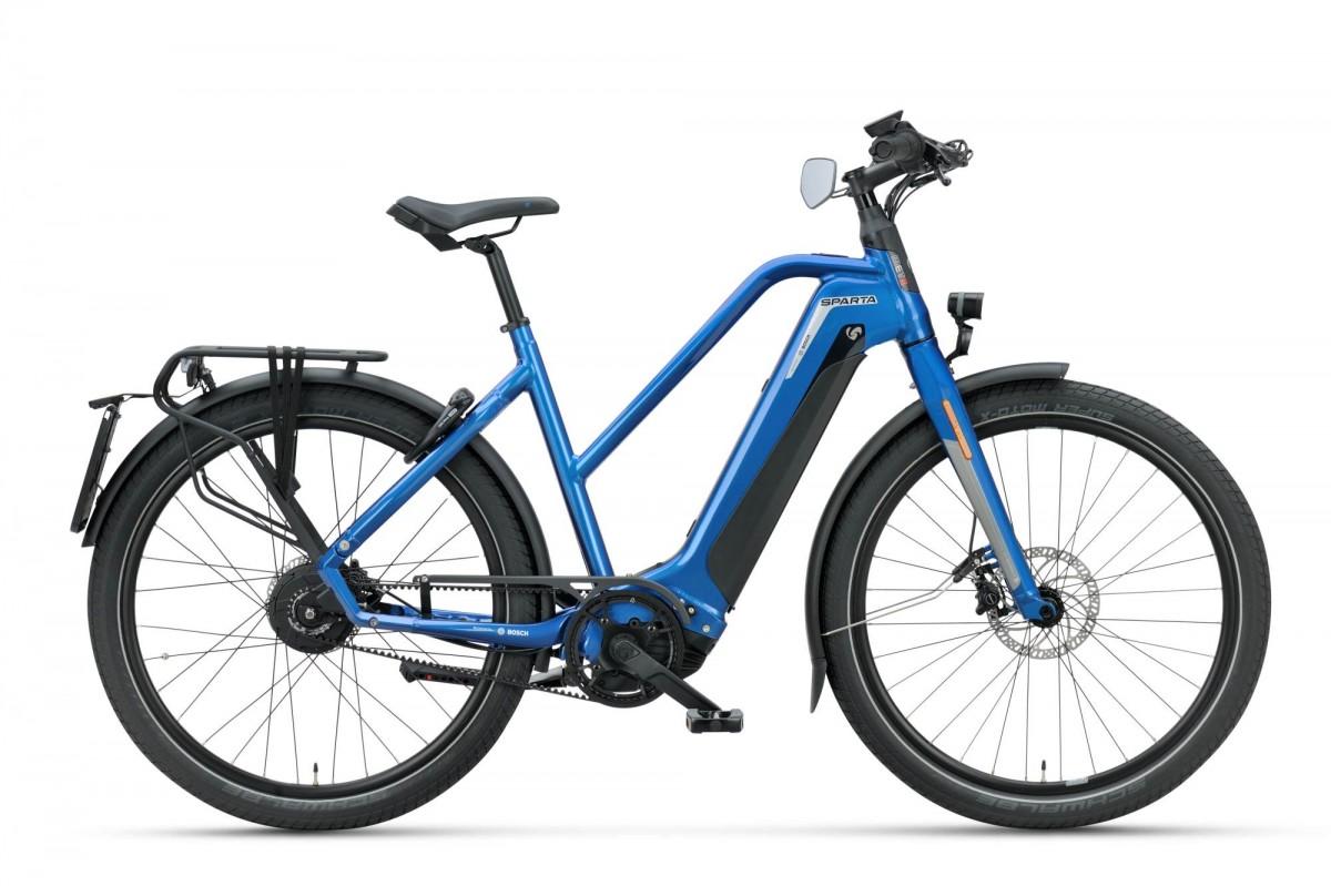 Sparta d-Burst METb Smart Speed incl. 625Wh, Boracay Blue gloss