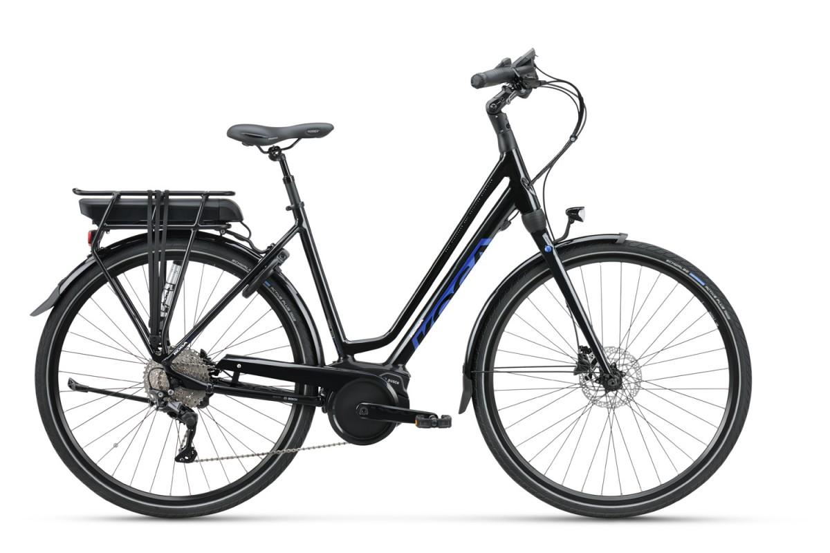 KOGA E-Inspire 400wh, Black Gloss/Reflex Blue High G