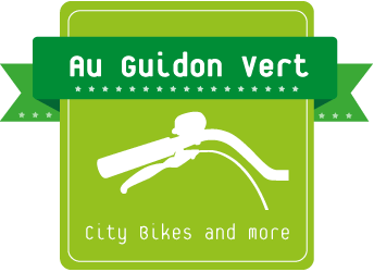 Logo Au Guidon Vert