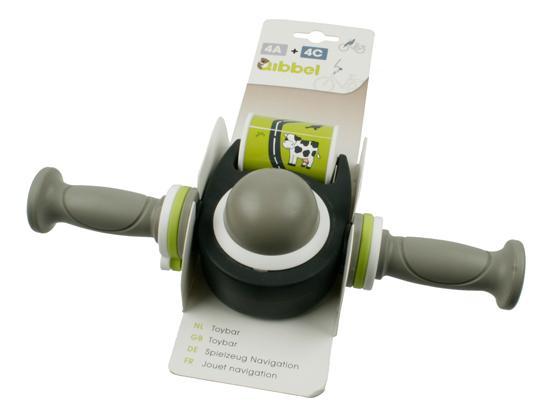 Qibbel toybar speelgoedstuur grijs Array