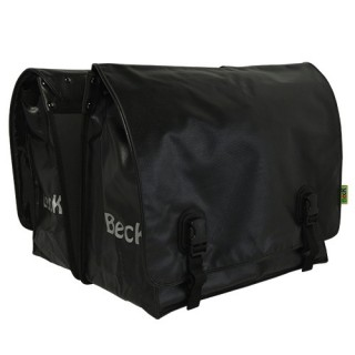 BECK Big Zwart bisonyl tas