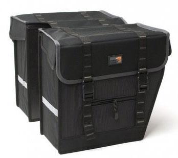 New looxs NewLooxs 100.356 Dubb.tas Superior Maxi 42L zwart/grijs