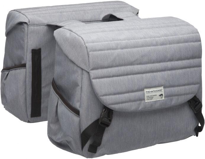 New looxs NewLooxs 218.195 Dubb.tasMondi Joy Double 38L Quilted grey