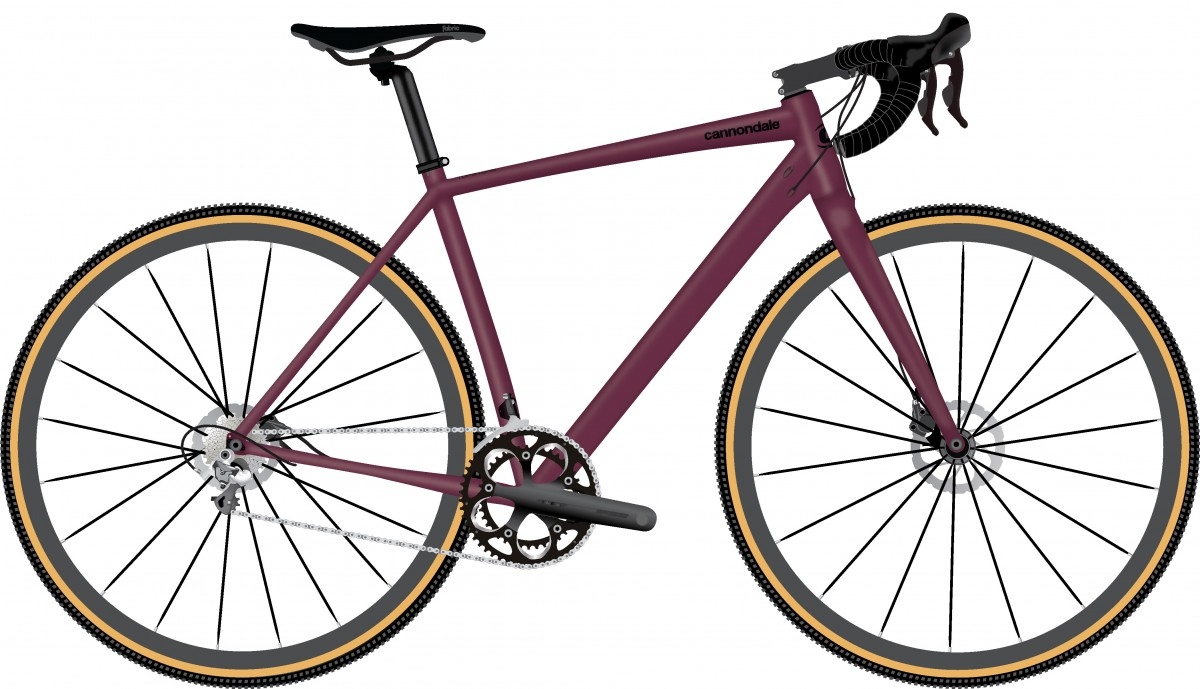 CANNONDALE Topstone 3 BCH MD, Black Cherry