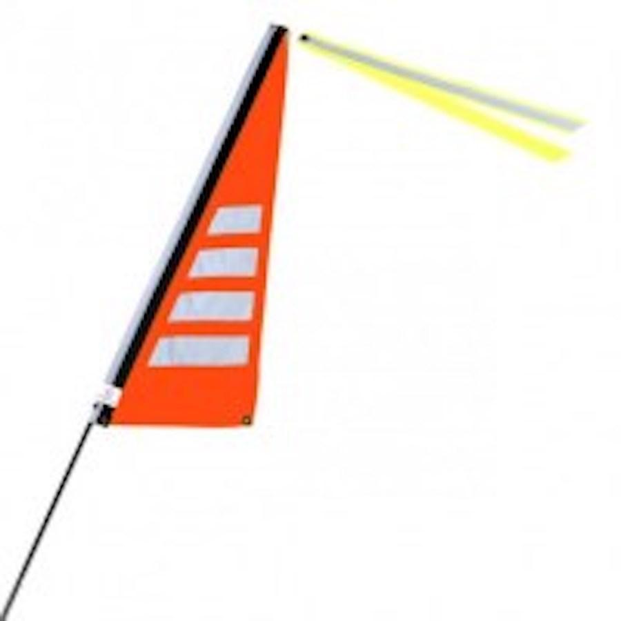 Traumvelo Fietsvlag ligfiets maat M kleur oranje