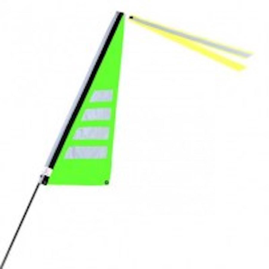 Traumvelo Fietsvlag ligfiets maat M kleur groen