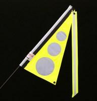 Traumvelo Fietsvlag ligfiets maat S kleur geel