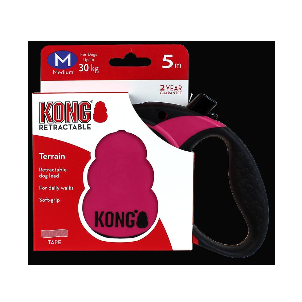 KONG Rollijn Terrain Pink M (5m/30kg)