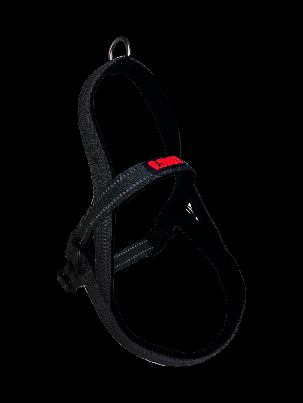 KONG Norwegian harness  M Black