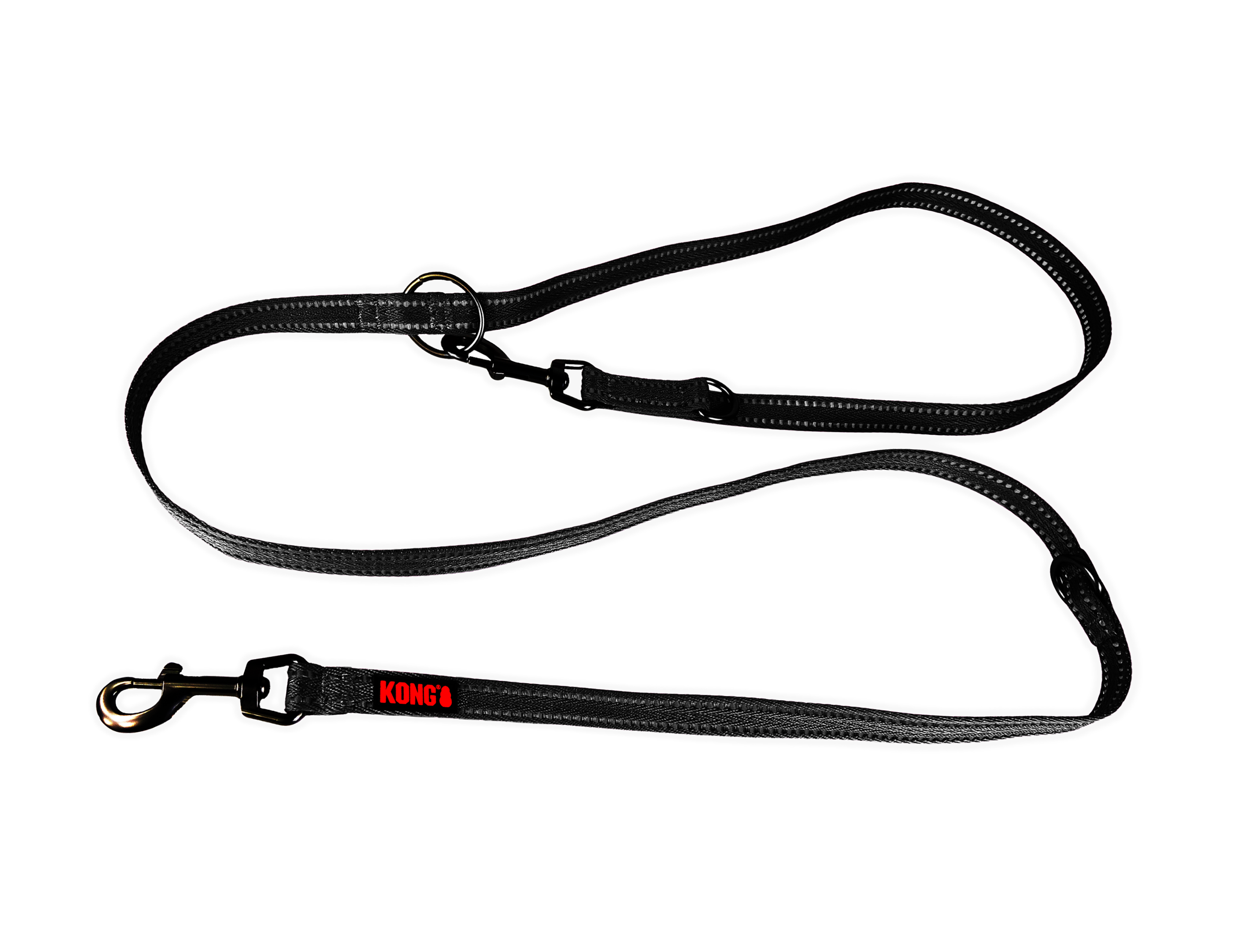KONG Adjustable leash M Black