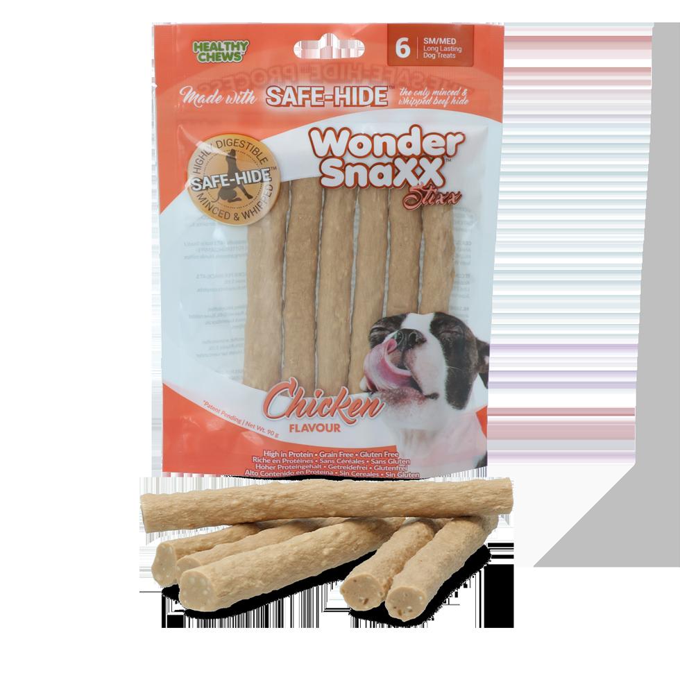 Healthy chews Wonder Snaxx Stixx Kip