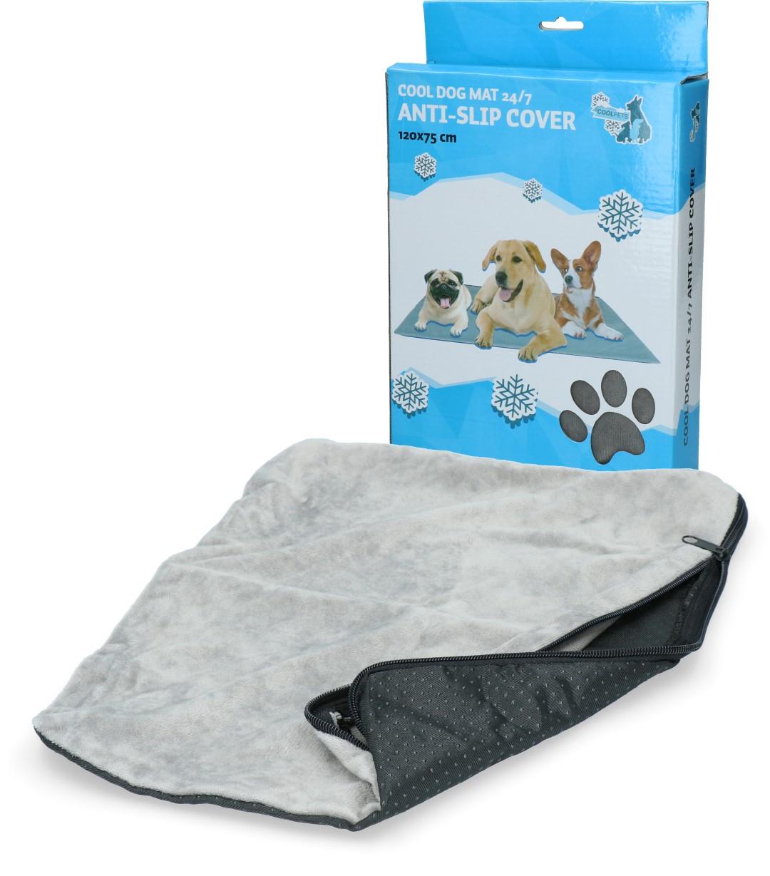 CoolPets Dog Mat 24/7 Anti-Slip Cover (120x75cm) XL