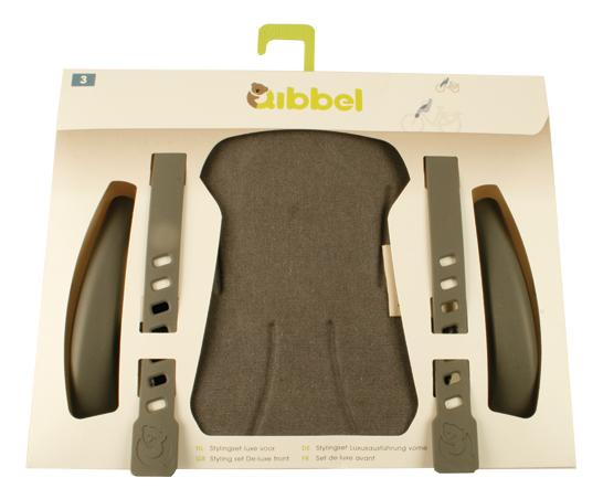 Qibbel Stylingset luxe voorzitje - Canvas Elements faded