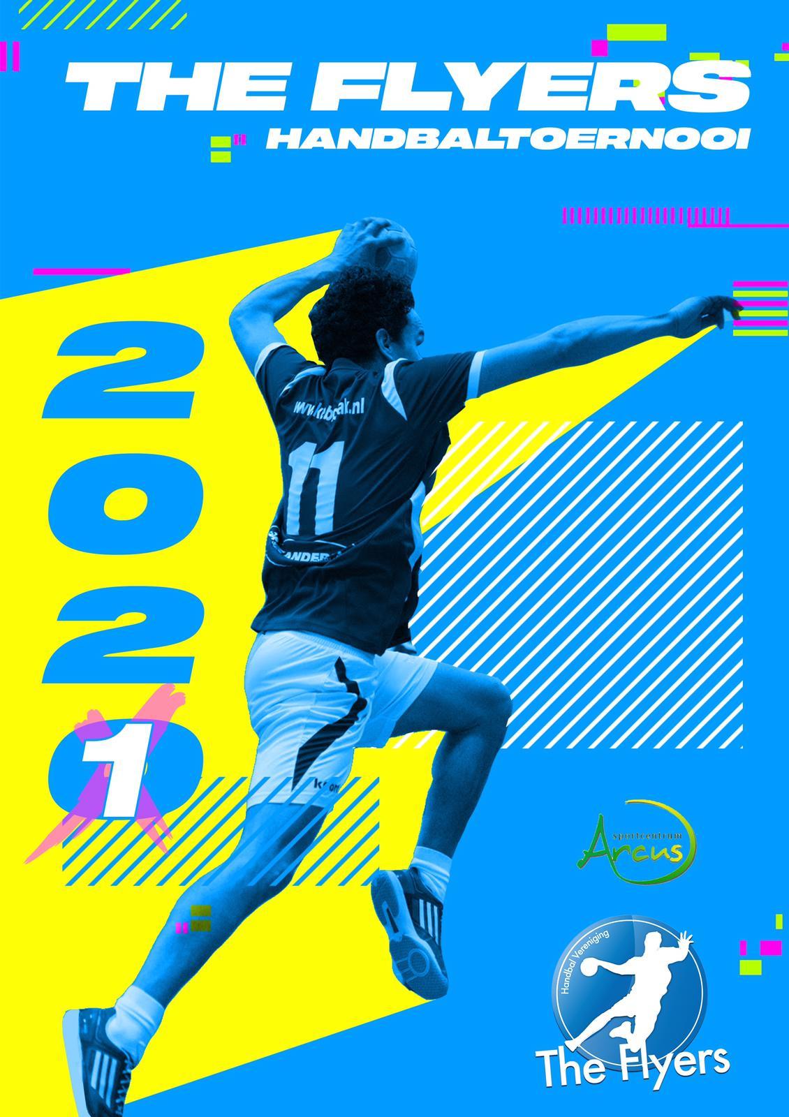 Flyers-Arcus Zaalhandbal Toernooi Annulering The Flyers-Arcus Zaalhandbaltoernooi 2020