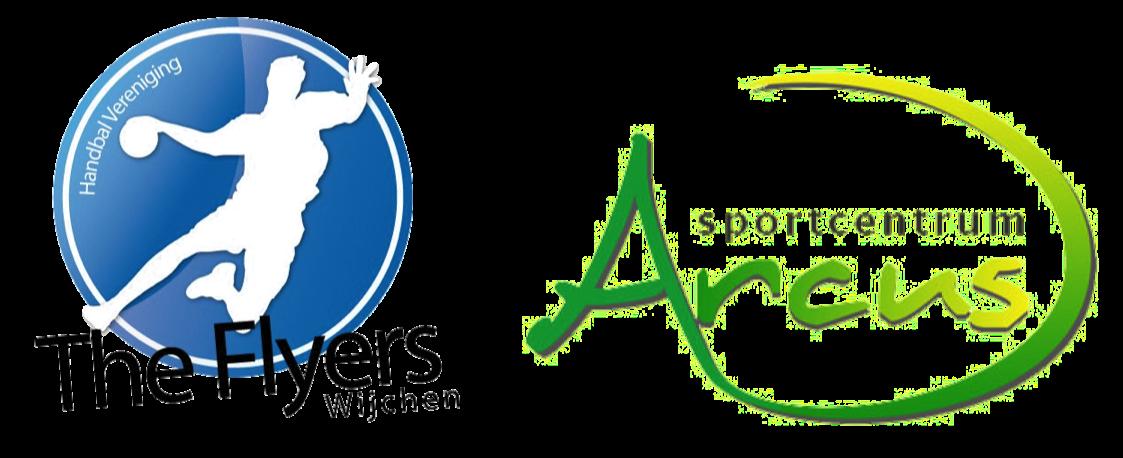 Logo Flyers-Arcus Zaalhandbal Toernooi