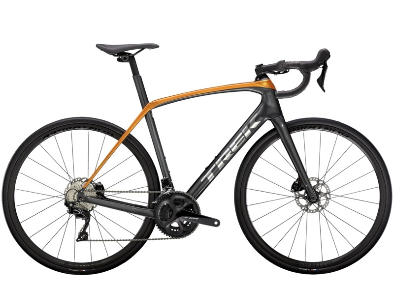 Trek Domane SL 5 50 Lithium Grey/Factory Orange NA