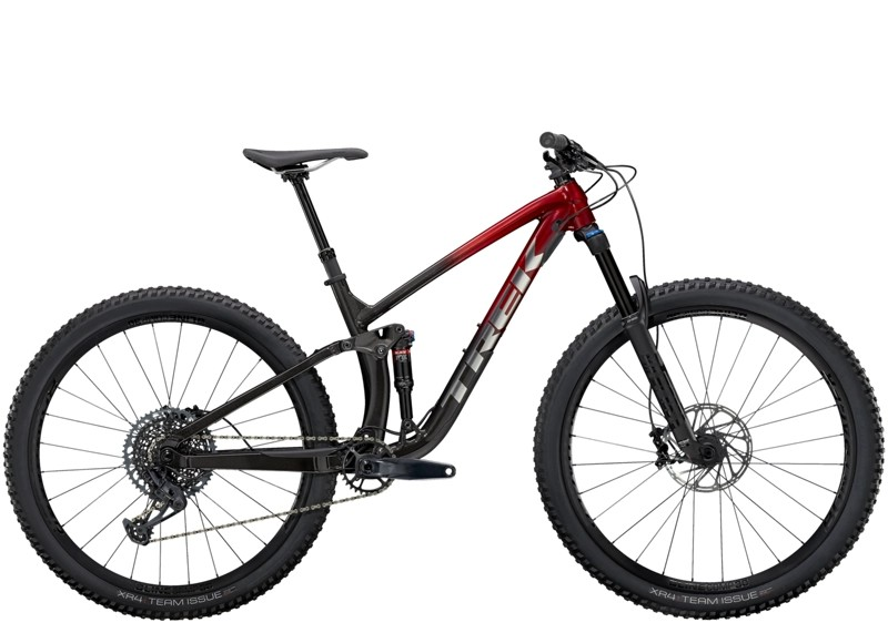Trek Fuel EX 8 GX ML 29 Rage Red to Dnister Black Fade