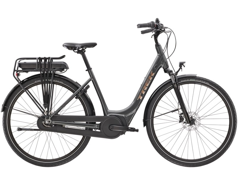 Trek District+ 1 Lowstep XL Lithium Grey 400WH