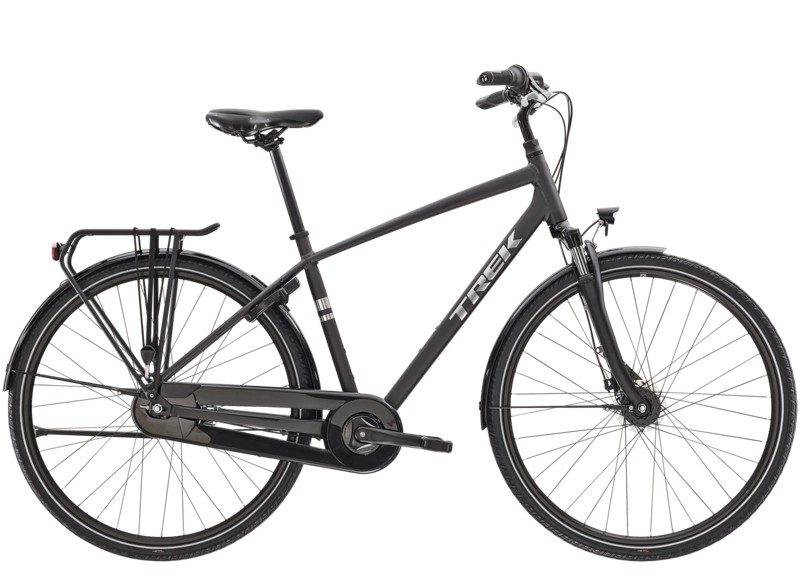 Trek District 1 EQ XL Matte Dnister Black LR6