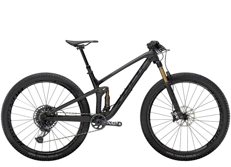 Top Fuel 9.9 X01 L Matte Raw Carbon/Voodoo Trek Bl