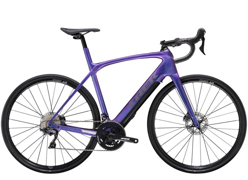 Trek Domane + LT 56 Gloss Purple Flip 260WH