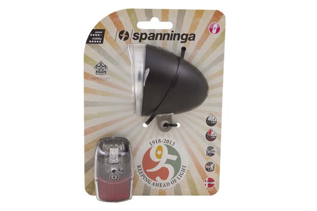 Spanninga Verlichtingsset Swingo Xb + Pixeo Xb - Zwart