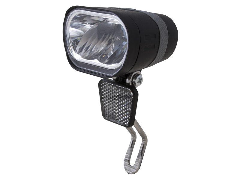 SPANNINGA LED koplamp Axendo XE Presentatieverpakking, 6-36V DC, met Duits keurmerk