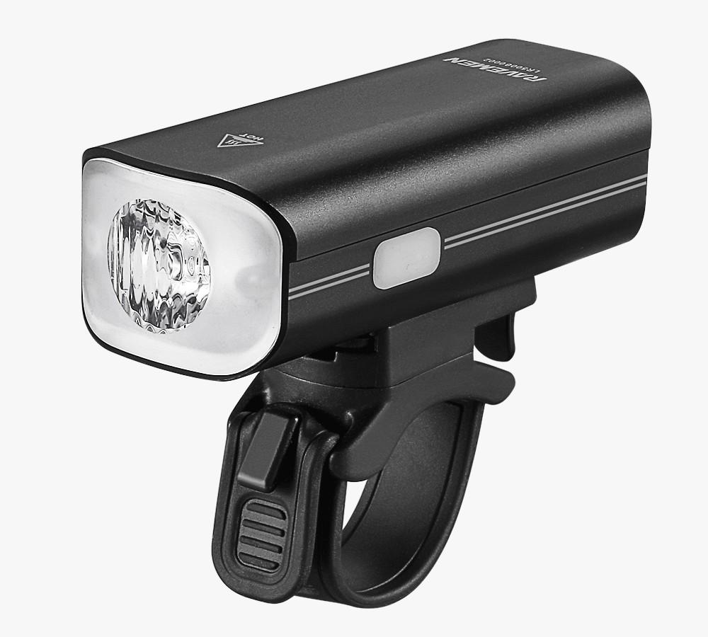 Ravemen LR800P lumen koplamp zwart 800 lumen