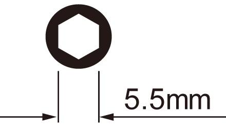 Icetoolz Spaaknippelsleutelset 12C5 voor 5,5mm 6-kant