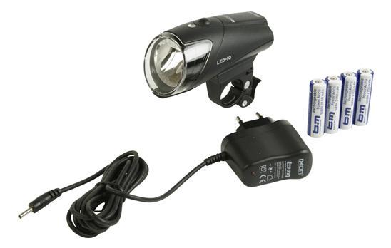 Busch & müller BUSCH & MÜLLER LED koplamp Ixon IQ Presentatieverpakking, accu- of
