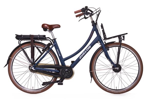 Cycletech E-CARGO, Mat Blauw metallic