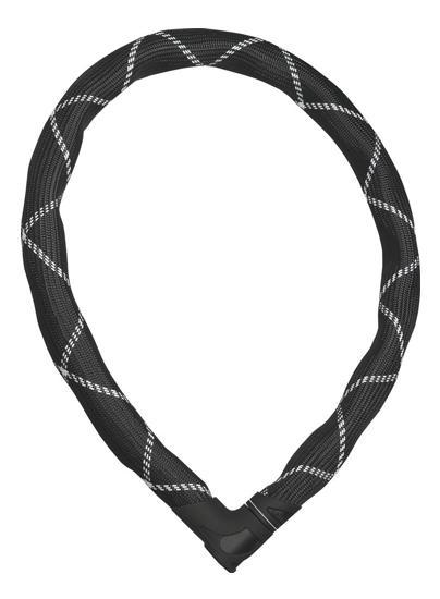 Abus Iven 8210/110 zwart, 8 mm/110 cm