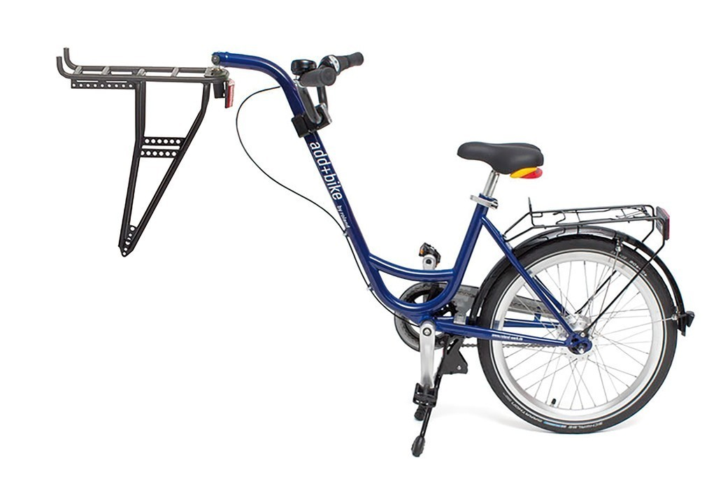 ROLAND Trailer Add+Bike 20, mit 3-Gangschaltung, Stahlrahmen, Shimano 3-Gang